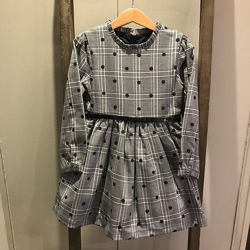 Mayoral 4923: Navy Glitter Girls Dress