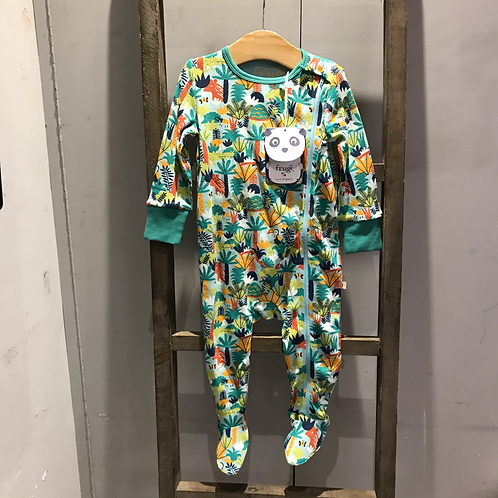 Frugi: RM0612 Baby Grows (Jungle Rumble)