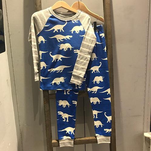 Hatley: Roaming Dinos - Blue Pyjamas