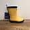 Thumbnail: Hatley: Matte Rain Boots - Yellow/Navy