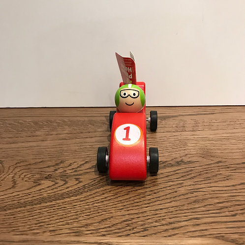 Big Jigs: Wooden Cars (Various Colours)
