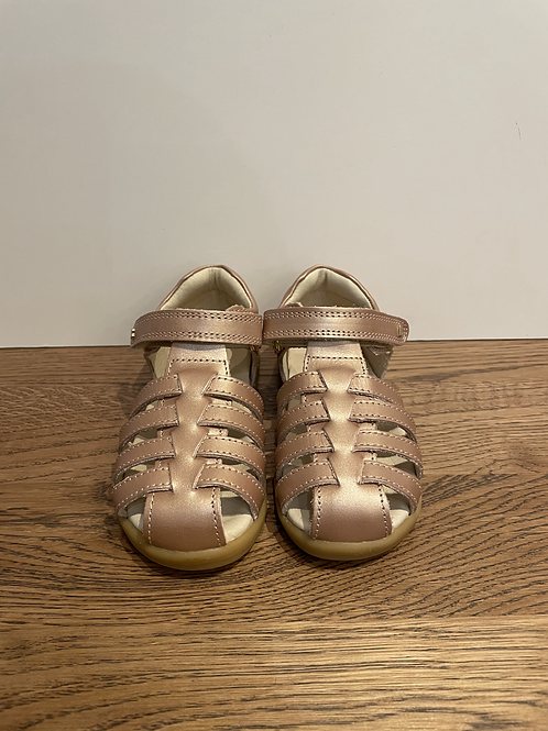 Bobux - I-Walk Jump Closed Toe Sandal - Rose Gold