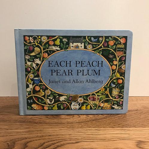 Each Peach Pear Plum - Book