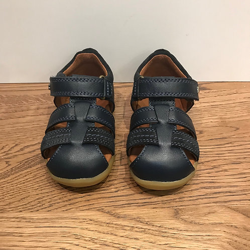 Bobux: Roam - Step up Navy Closed Toe Sandals