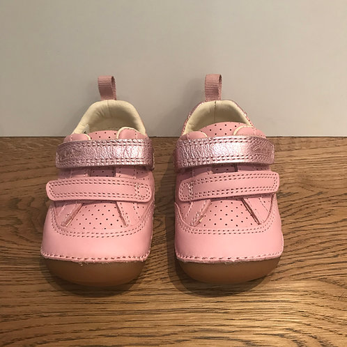 Clarks: Tiny Sky T - Pink First Walker