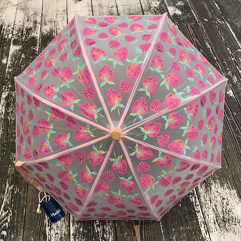 Hatley: Colour Changing Berry Umbrella - Pink