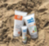 Organic sun cream sid and evies