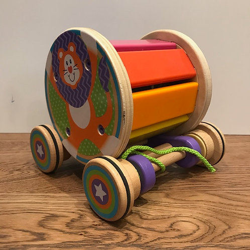 Melissa & Doug: Pull and Play Xylophone Pull Along