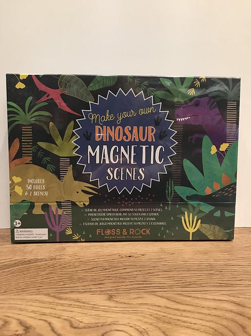 Floss & Rock: Magnetic Scenes (Dinosaur)