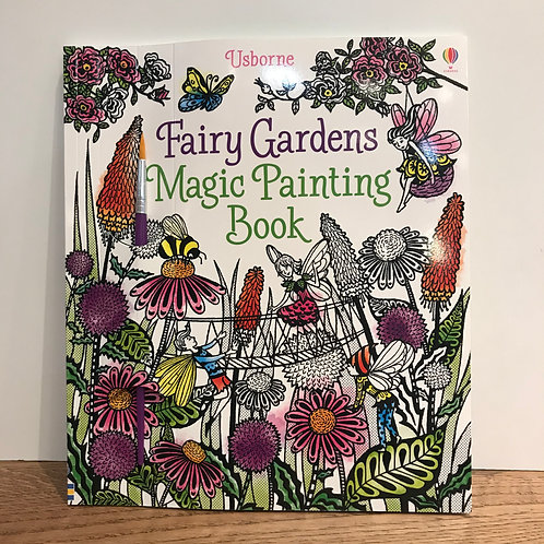 Magic Painting Book Fairy Garden