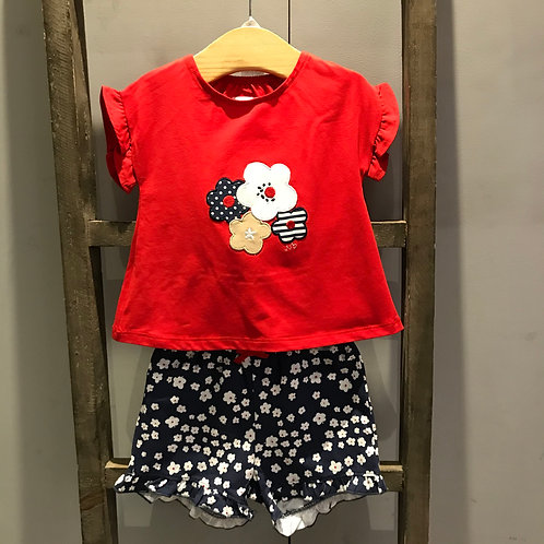 Mayoral: Flowers - Red Set