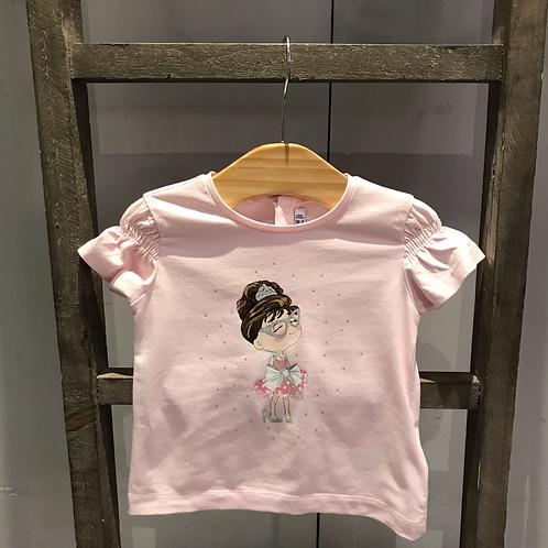 Mayoral: Princess T-Shirt - Pink