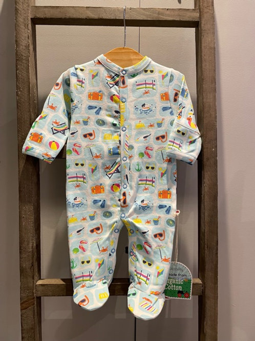 Piccalilly: Babygrow, Seaside