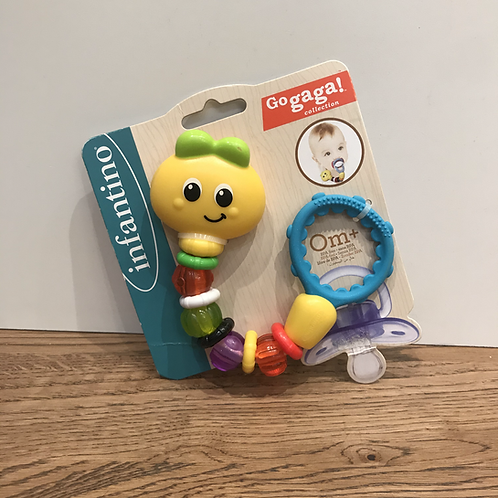 Infantino: Clip & Grip pacifier saver