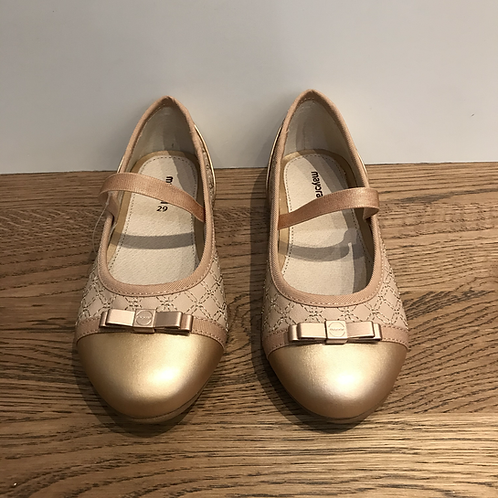Mayoral: Party Shoes - Rose Gold