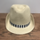 Thumbnail: Mayoral: Beige Straw Hat with Navy Stripe Band