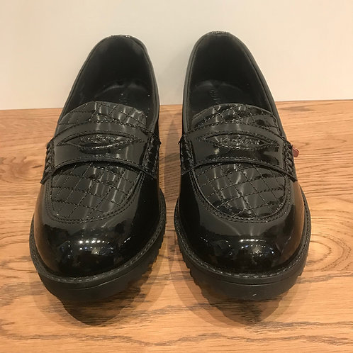 Kickers: Lachly Quilt - Patent Loafer
