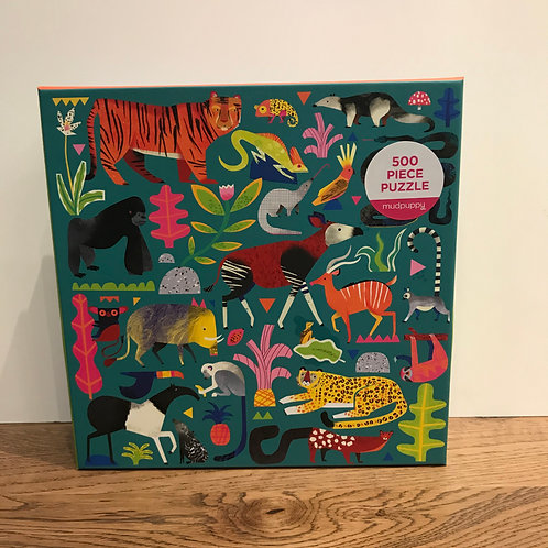 Rainforest Animals: Puzzle 500 Piece