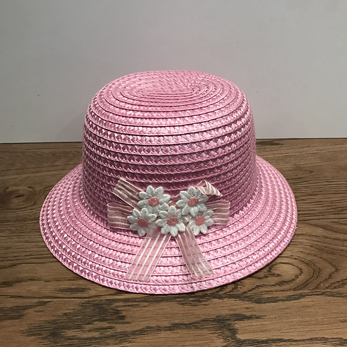 Mayoral: Summer Straw Hat (Rosa)