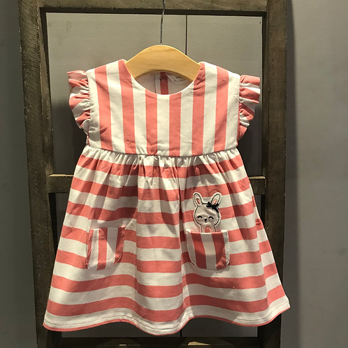 Mayoral: Strip - Pink Dress