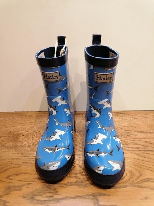 Hatley: Shark Wellies