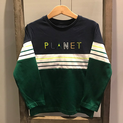 Mayoral: 4083 Green Planet T-Shirt