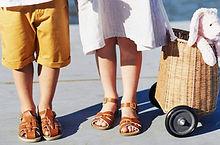 Children's sandals at Sid & Evie's