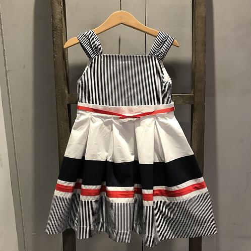 Mayoral: 3937 - Strip Dress