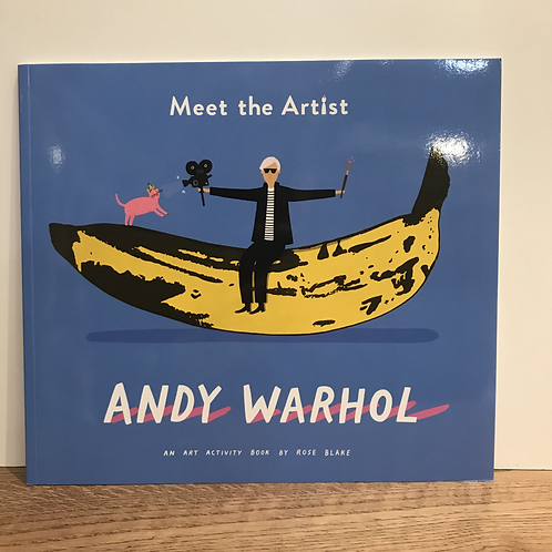 Andy Warhol: Meet the Artist Activity Book