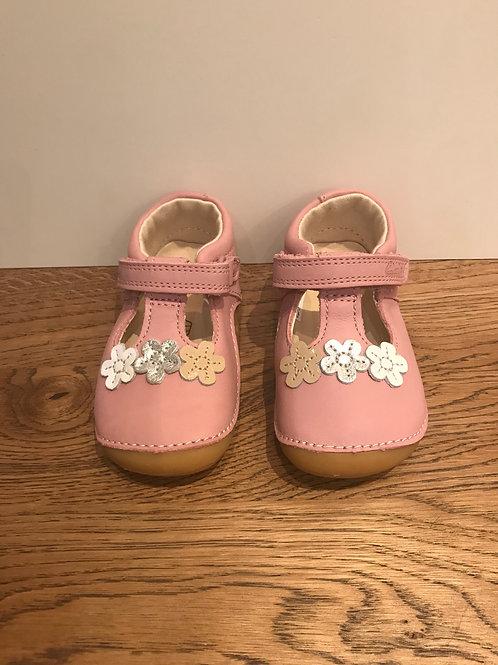 Clarks: Tiny Sun T - Pink First Walker