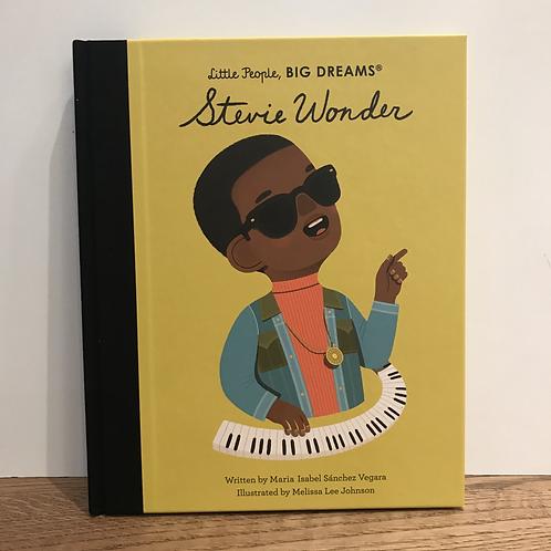 Little People Big Dreams: Stevie Wonder Book
