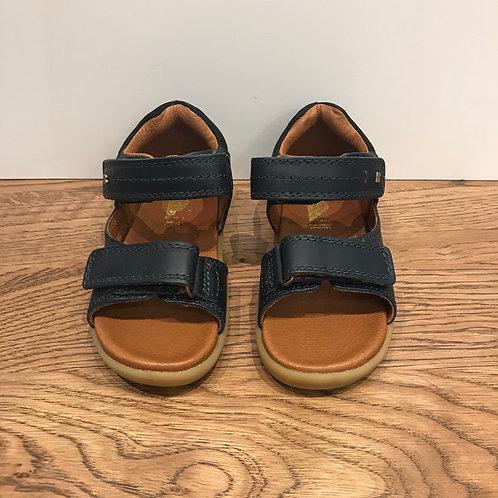 Bobux: Driftwood - iWalk Navy Sandals