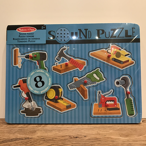 Melissa & Doug: Musical Tool Puzzle