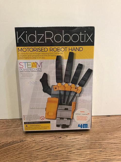Kidzribotic: Robotic Hand