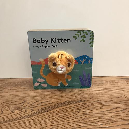 Finger Puppet Book: Baby Kitten