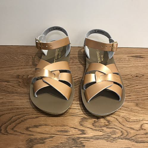 Salt Water: Swimmer - Rose Gold Sandals