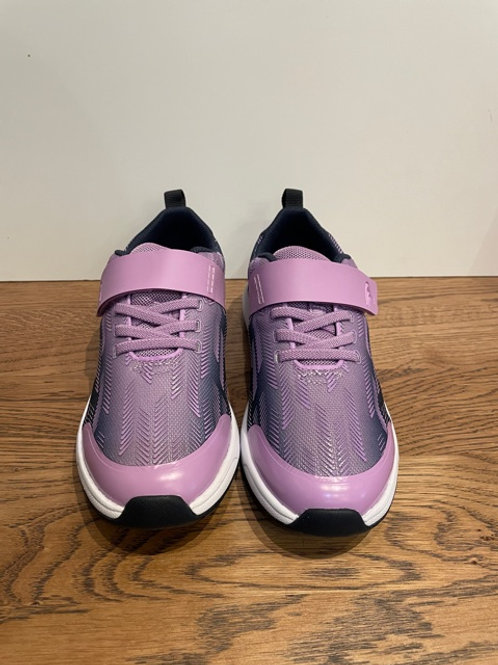 Clarks: Aeon Pace K - Purple Trainers