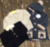 Boys knitted cardigans & Sid & Evie's in