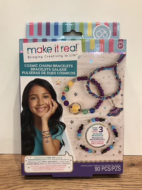 Make It Real: Cosmic Charm Bracelets