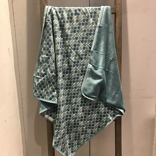 Sense Organics: Baby Blanket (Light Teal)