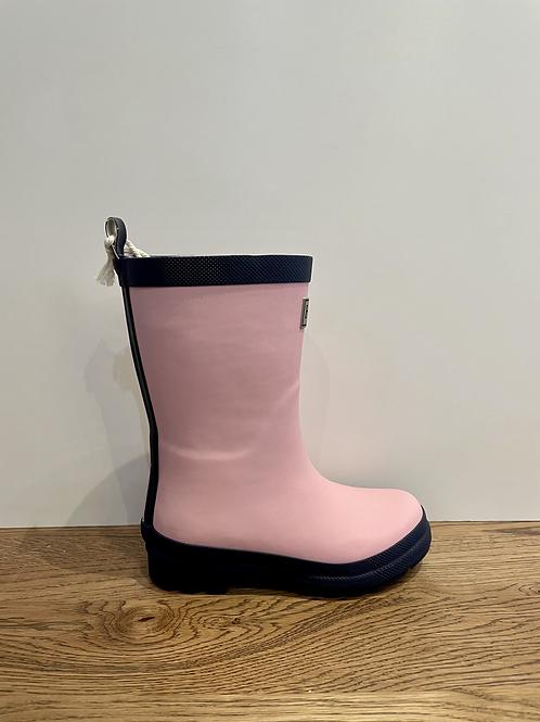 Hatley: Matte Wellies - Pink/Navy