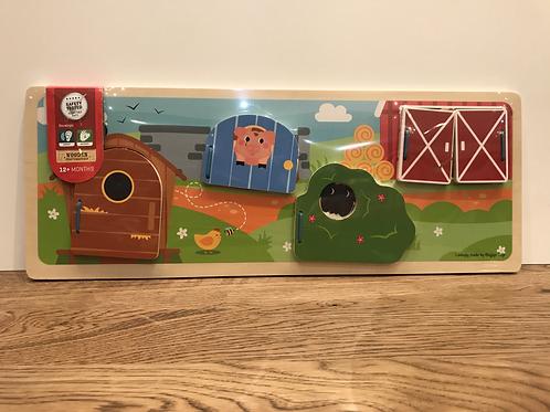 BigJigs: Flap Panels (Farm)
