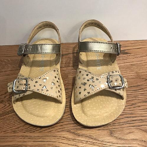Start-Rite: Enchant - Gold Metallic Sandals
