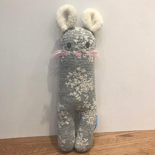Albetta: Bunny Grey Knit 30cm