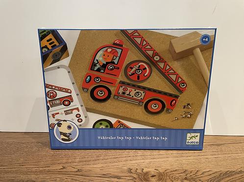 DJECO: Vehicles Tip Tap Game