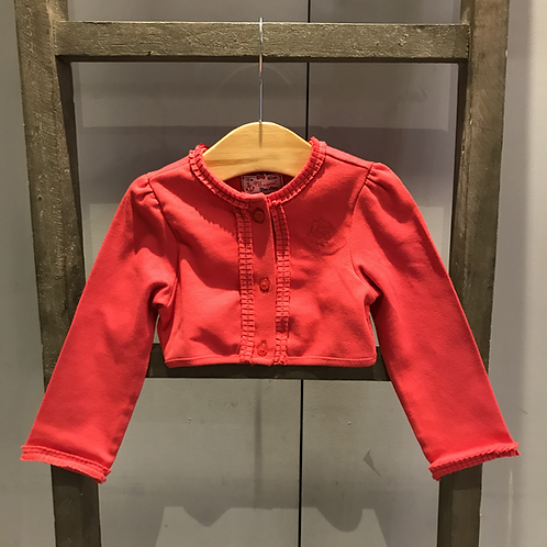 Mayoral: Cotton Cardigan (Red)