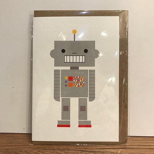 Card: Birthday (Robot)