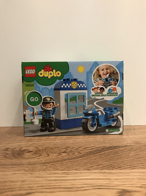 Duplo: 10900 - Police Bike