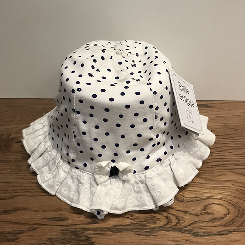 Emile et Rose: Summer Hat (Polka Dot)