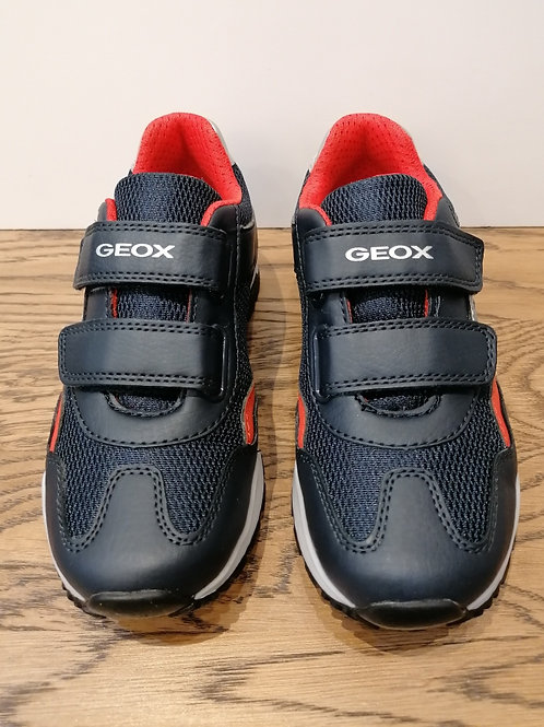 Geox: Pavel - Navy/Red Trainer